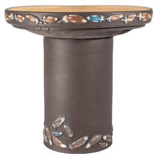 Burley Clay Flight Birdbath