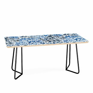 Nicola Design Flowers and Plants Coffee Table by East Urban Home