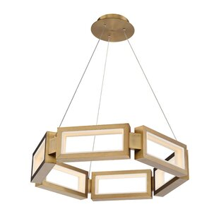 Modern Forms Mies 1-Light LED Novelty Chandelier