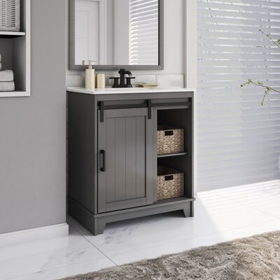 Find The Perfect Gray Bathroom Vanities Wayfair
