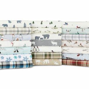 Eddie Bauer Edgewood Plaid 100% Cotton Sheet Set