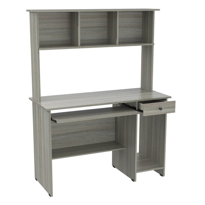 Galaz Computer Desk With Hutch