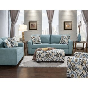 Mazemic 2 Piece Living Room Set by Roundhill Furniture