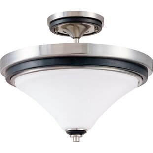 Colette 2-Light Semi Flush Mount by Charlton Home