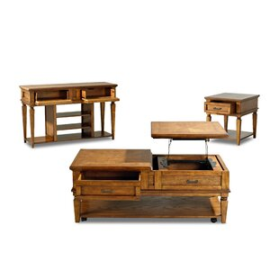Klaussner Furniture Hanna 3 Piece Coffee Table Set