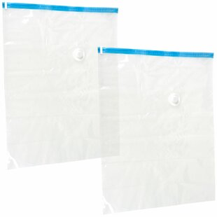 Compare Space Saving Vacuum Bag (Set of 2) By Trademark Home Collection