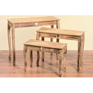 Isaias 3 Piece Console Table Set