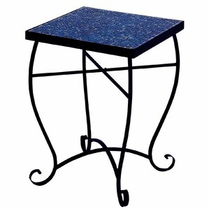 Moroccan Mosaic Mystic Square End Table by U..