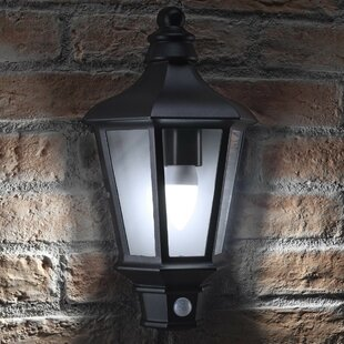 Garren LED Outdoor Wall Lantern With Motion Sensor By Sol 72 Outdoor