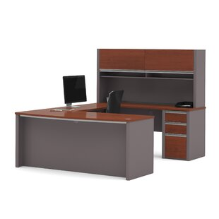 Orren Ellis Aurea U-Shape Executive Desk with Hutch