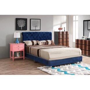 Loc Tufted Upholstered Standard Bed