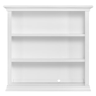 White Dresser With Bookshelf