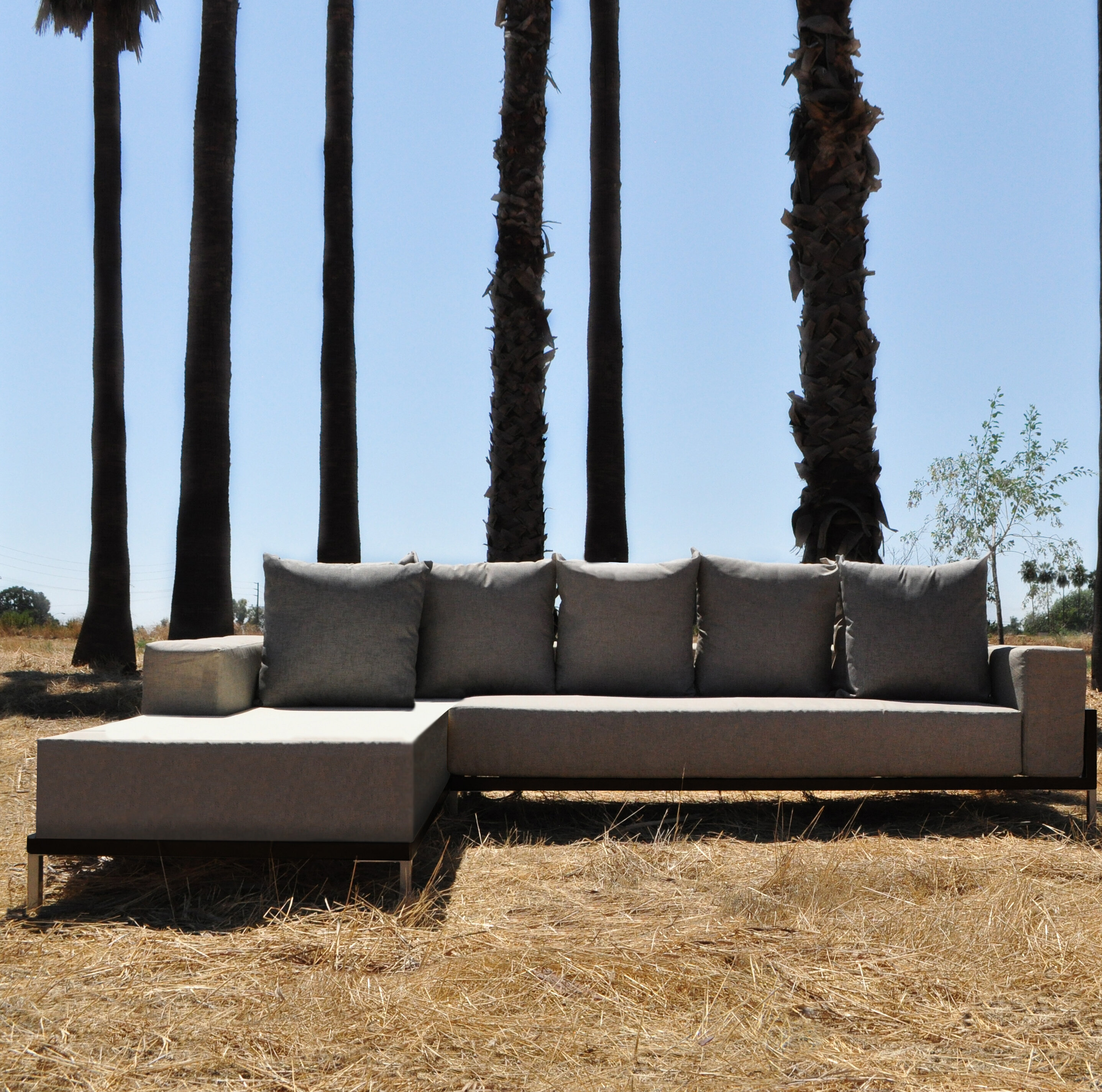 Orren Ellis Tilly 2 Piece Sectional Set with Cushions | Wayfair