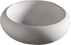 Whitehaus Collection Isabella Ceramic Circular Vessel Bathroom Sink