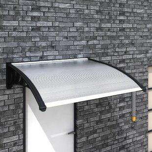 Permelia W 1.5 X D 1m Retractable Door Canopy Image