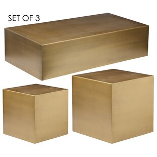 Conwell 3 Piece Coffee Table Set