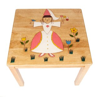 Fairy With Flower Children's Side Table By Just Kids