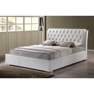 Everly Quinn Leyland Upholstered Platform Bed
