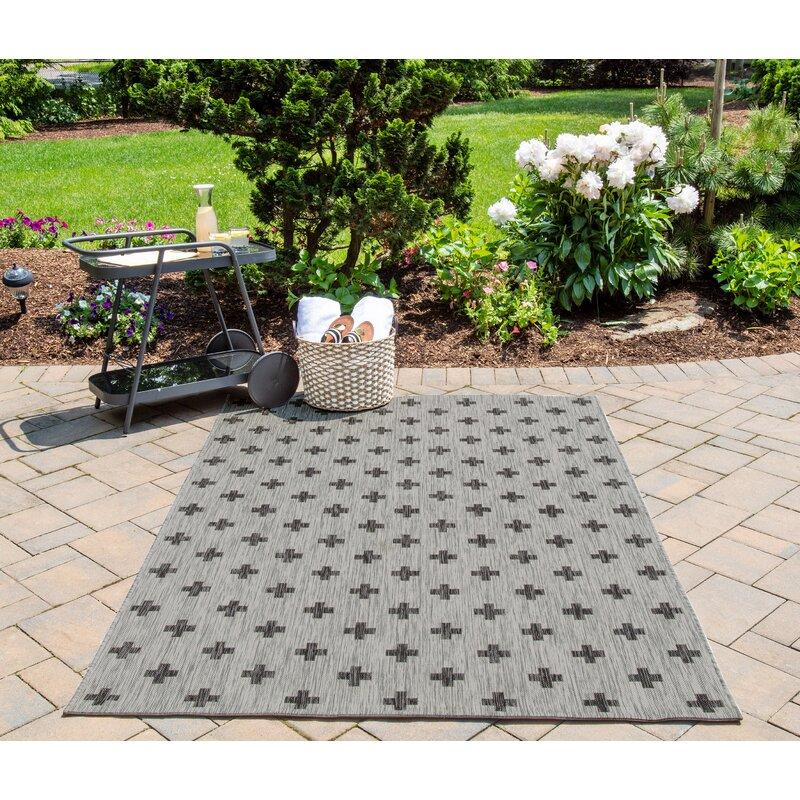 Umbria Gray Indoor Outdoor Area Rug Amp Reviews Joss Amp Main