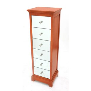 Kluesner 6 Drawer Lingerie Chest