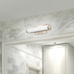 Lithonia Lighting Cylinder 1-Light LED Bath Bar