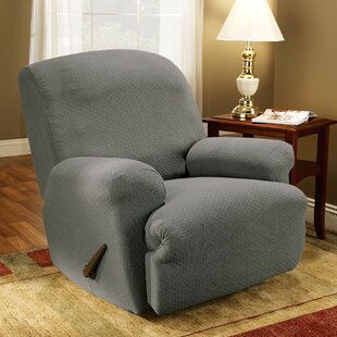 Simple Stretch Subway T-Cushion Recliner Slipcover