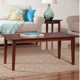 Ithaca Solid Wood Frame Coffee Table by Charlton Home®