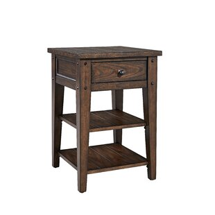 Buy clear Kalene Square End Table ByLoon Peak