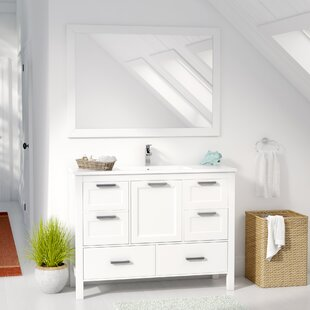 Looking for Andre 48 Single Bathroom Vanity Set with Mirror ByLongshore Tides