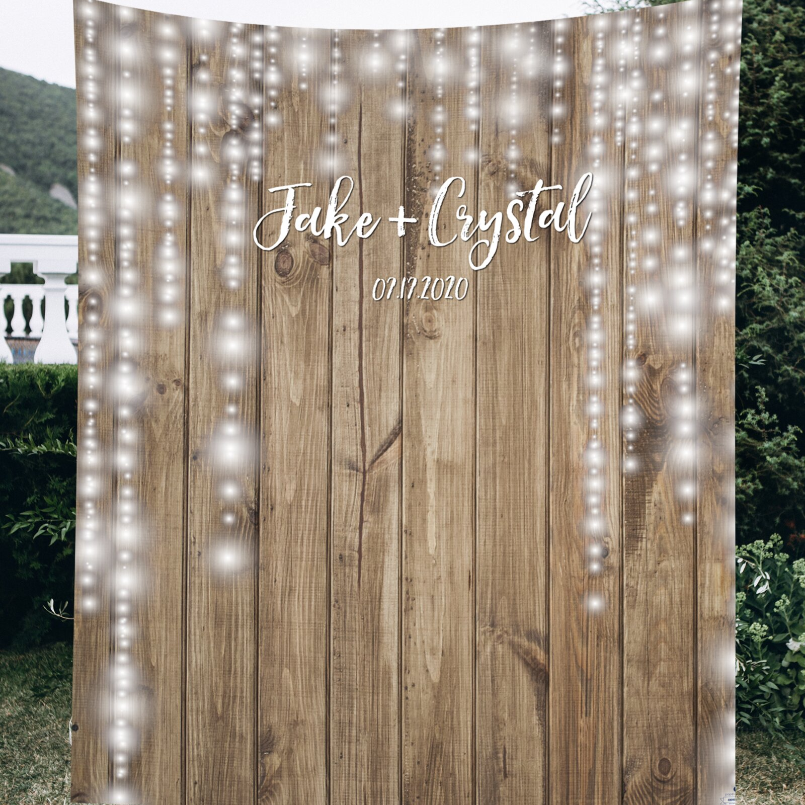 PaperRamma Wedding Backdrop | Wayfair