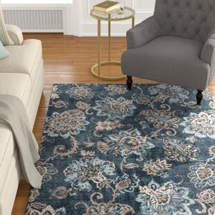 Affordable Russell Navy Blue/Brown Area Rug By Charlton Home