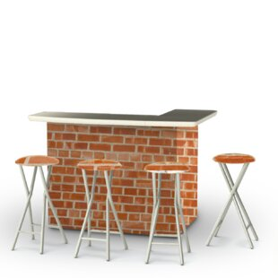 Best of Times Boston Brick 7 Piece Bar Set