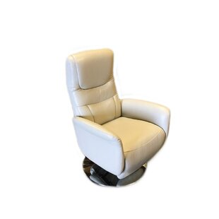 Macon Leather Handle Manual Recliner