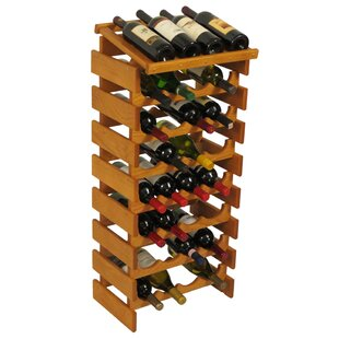 Dakota 32 Bottle Floor Wine Rack by Woode..