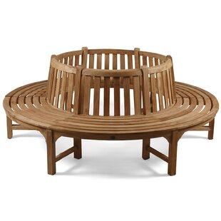 Check Price Lindsay Teak Tree Seat