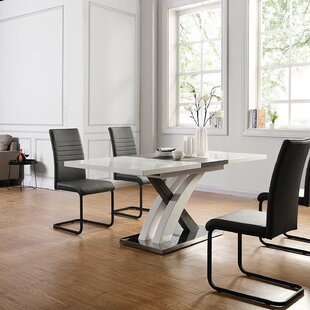 Valles Extendable Dining Table By Ebern Designs