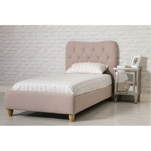 Review Allendale Single (3') Upholstered Bed Frame