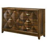 Venegas 6 Drawer Double Dresser by Loon Peak®