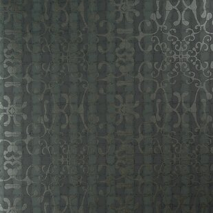 Review Classic Tiled Romantic Swirls 27.5 x 27.5 Floral and botanical Wallpaper by Walls Republic