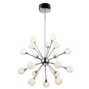 Artcraft Lighting Odyssey 18-Light LED Sputnik Chandelier