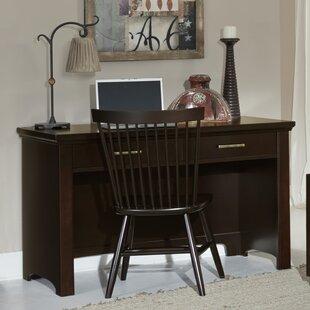Darby Home Co Bertram High-Back Rectangular Desk Office Suite