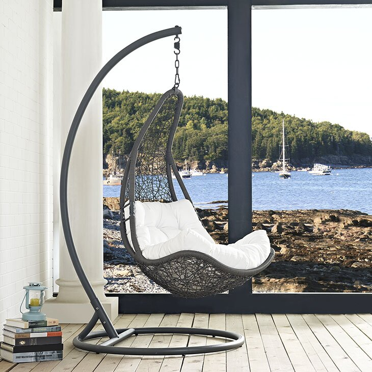 Great Abate Swing Chair With Stand