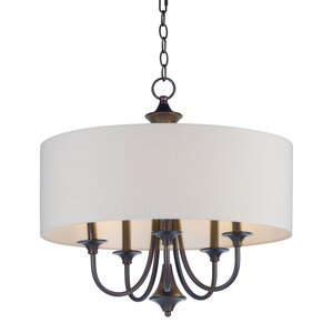 Becher 5-Light Drum Chandelier