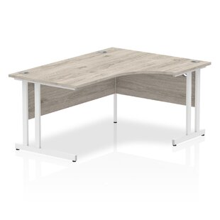 Zetta L-Shaped Executive Desk By Ebern Designs