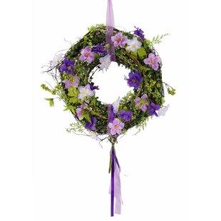 32cm Delphinium Wreath Image