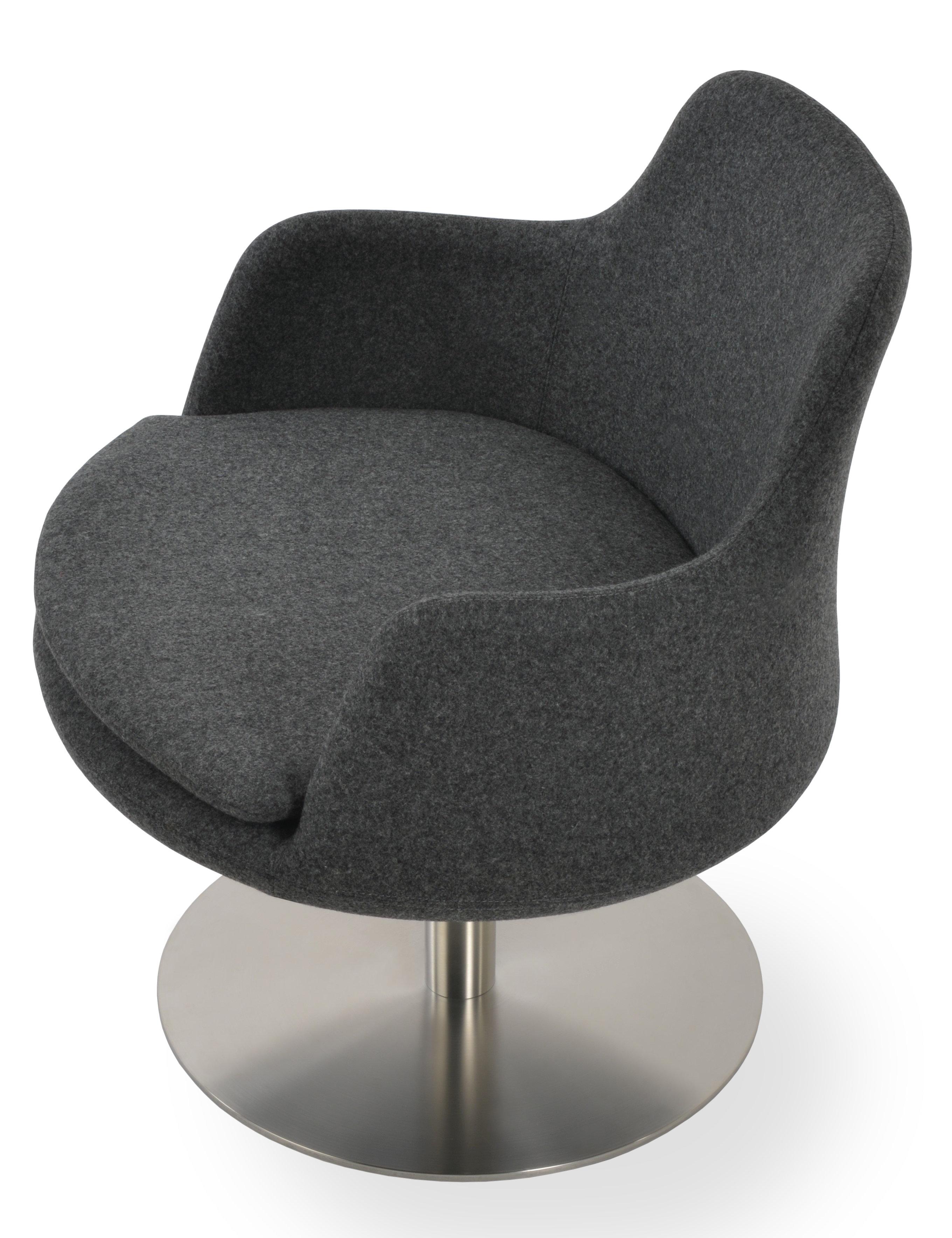 Sohoconcept Dervish Low Back Round Lounge Chair Wayfair