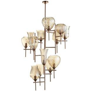 Darcey 13-Light Shaded Chandelier by Cyan Design