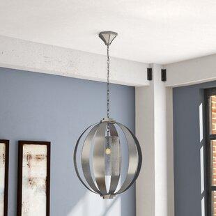 Damiane 1-Light Pendant by Orren Ellis