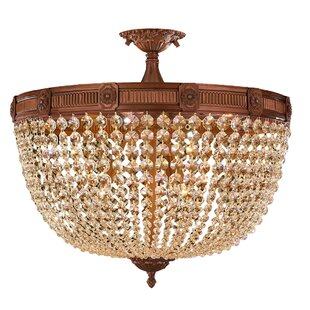 Astoria Grand Reimer 9-Light Semi-Flush Mount