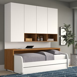 Reviews Gautreau Compact Twin Murphy Bed by Brayden Studio Reviews (2019) & Buyer's Guide
